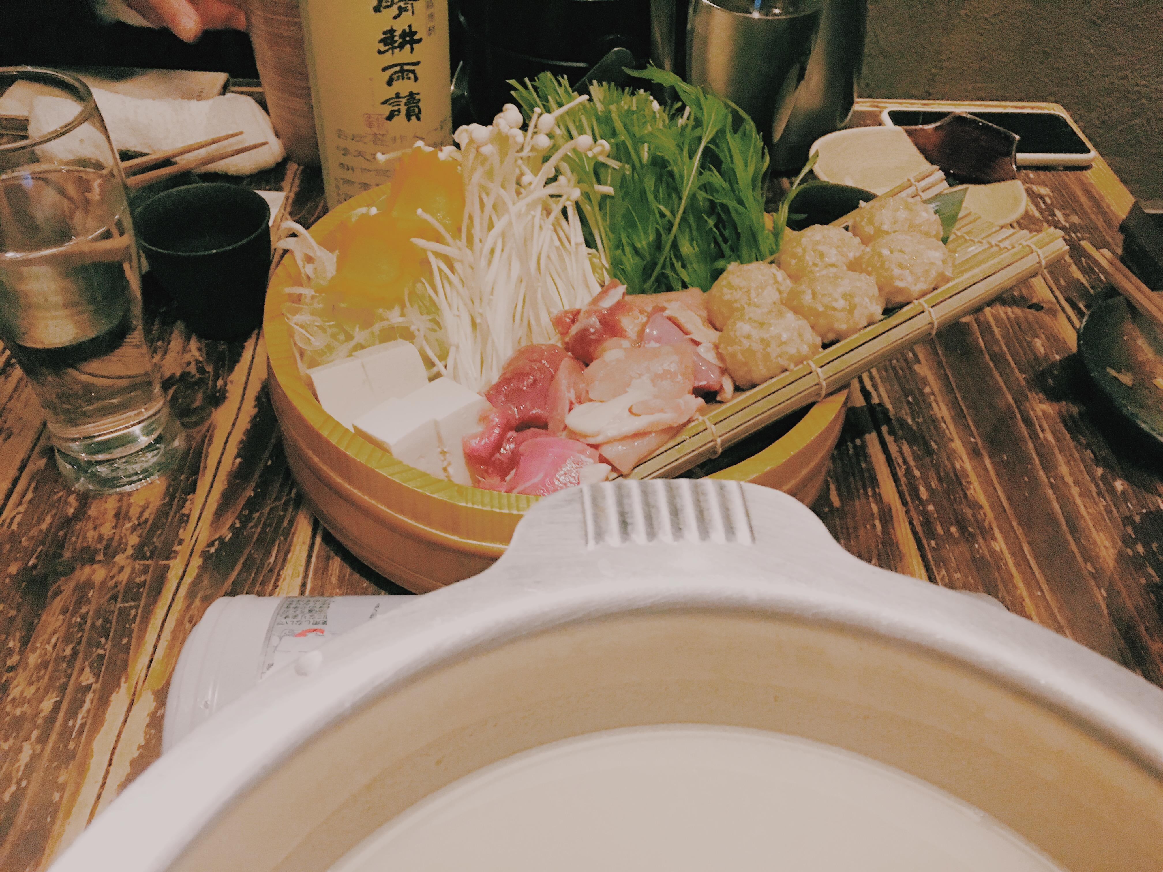 【なぎの木 表参道店】博多もつ鍋・水炊き・一品料理も美味しい!