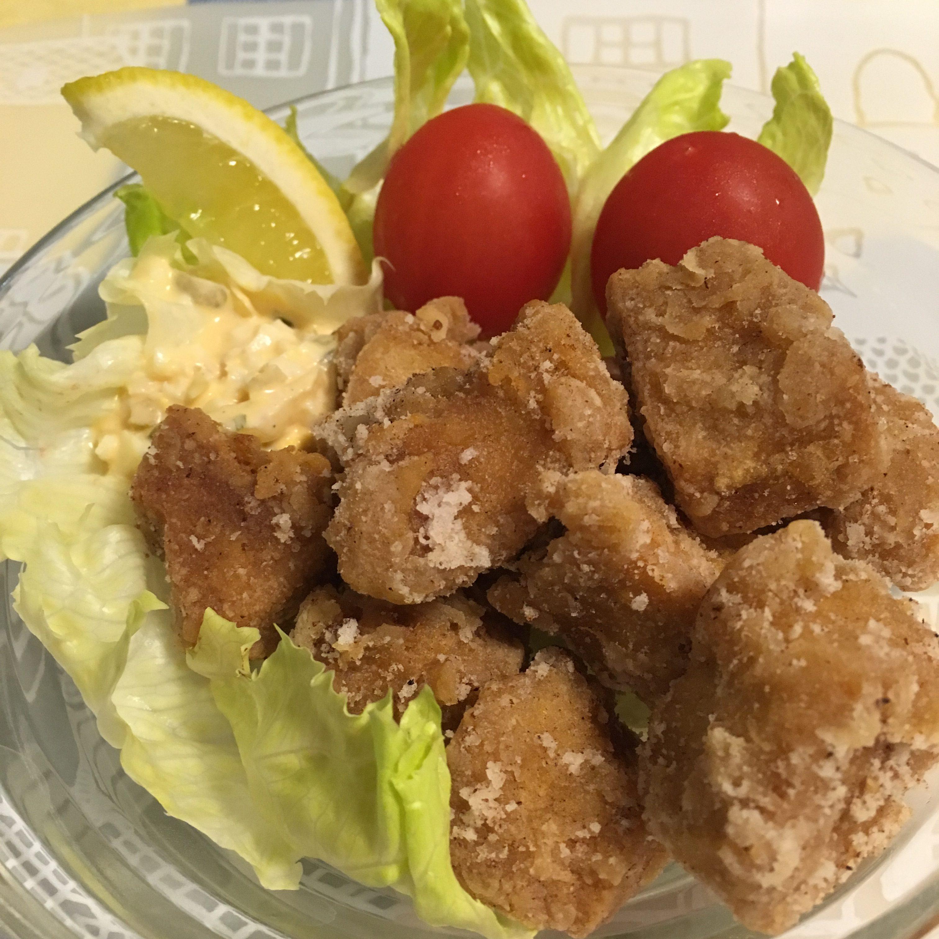 高野豆腐の唐揚げ(ず)〜美味しい節約ダイエットレシピ